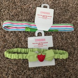 Two New Gymboree Headbands OS